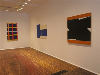 <b>don voisine, mark williams and thornton willis</b><br>installation view [right to left] (checklist 5-7)